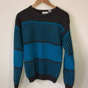 Vintage Color Blocked Sweater